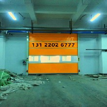 供应光印洁净室专用快速卷帘门帆布卷帘门PVC快速卷帘门节能环保