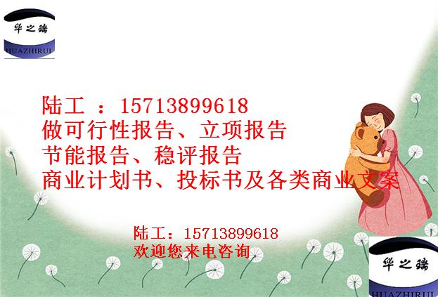 长兴县长兴县写节能报告/做节能报告