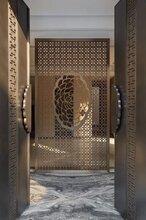 佛山不锈钢厂直销批发不锈钢电梯门套奢华土豪金色304不锈钢门套