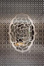 304不锈钢电梯蚀刻花纹板高端酒店电梯门镜面装饰板电梯桥厢板