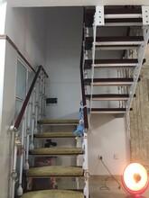弧形楼梯高层阳台护栏图片