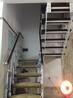 玻璃楼梯中柱旋转楼梯