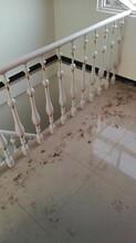 重型卷板楼梯别墅进户门楼梯护栏图片