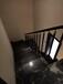 弧形楼梯黑色双梁楼梯