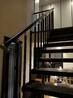 重型卷板楼梯成品楼梯扶手