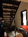 玻璃楼梯实木立柱
