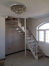 钢木楼梯北京实木楼梯直销图片