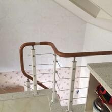 内蒙古自治区斜梁楼梯实木楼梯厂家直销图片