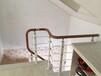 玻璃楼梯实木楼梯踏步板