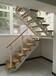 复试楼梯实木齐发国际栏杆生产