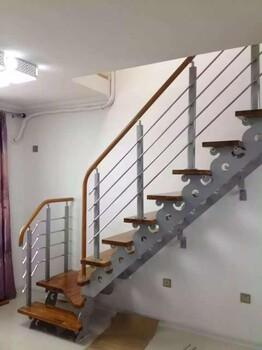 重型卷板楼梯河北楼梯生产厂家-钢木-实木-护栏