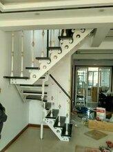 钢木楼梯欧式钢木楼犀利梯图片