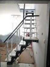 实木楼梯现代简约阁楼复试图片