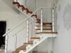 玻璃楼梯不锈钢护栏立柱定制,
