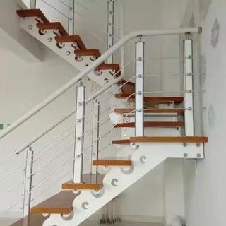 玻璃楼梯不锈钢护栏立柱定制,图片1