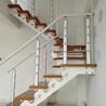 重型卷板楼梯铝合金楼梯护栏