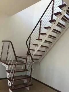 玻璃楼梯不锈钢护栏立柱定制,图片2
