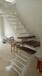 重型卷板楼梯实木扶手楼梯