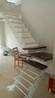 斜梁楼梯大型卷板楼梯钢木楼梯