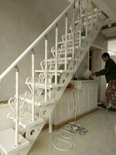 弧形樓梯陽臺護欄報價圖片