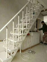 弧形楼梯实木楼梯15步要多少钱图片