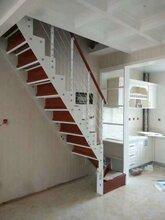 阁楼楼梯实木楼梯价格图片