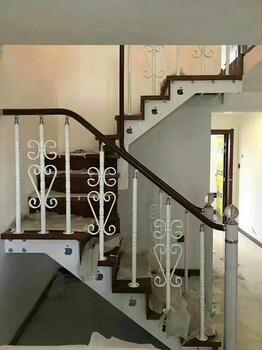斜梁楼梯新型阳台护栏