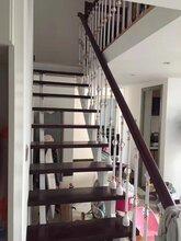 弧形楼梯抚�u顺双梁楼梯厂家图片