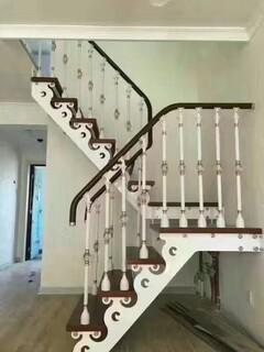 玻璃楼梯不锈钢护栏立柱定制,图片6