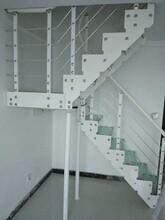 钢木楼梯楼梯护栏多少钱一米图片