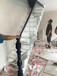 楼梯齐发国际铸铁护栏立柱