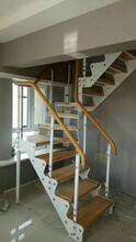 重型卷板楼梯双梁楼梯价格图片