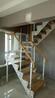 楼梯配件实木弧形扶手制作