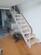 斜梁楼梯北京实木楼梯