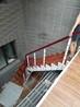 重型卷板楼梯实木楼梯