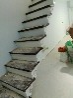 实木楼梯玻璃楼梯扶手