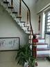 阁楼楼梯不锈钢弧形扶手