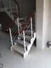 中柱旋转楼梯实木齐发国际定做,老人实木齐发国际