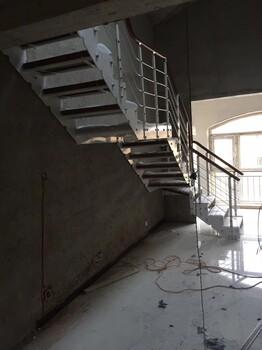 弧形楼梯阳台护栏玻璃