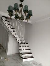 楼梯护栏鞍山双梁楼梯厂家图片