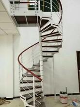 阁楼楼梯室内钢木楼梯图片