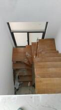 弧形楼梯北京实木楼梯厂家直销图片