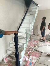 双梁楼梯现代钢木楼梯图片
