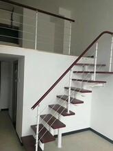 中柱旋转楼梯北京钢木楼梯图片