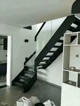 双梁楼梯护栏立柱定制图片