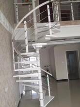 复试楼梯灯光护栏立柱图片
