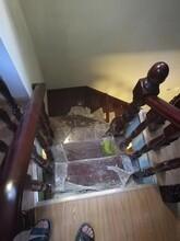 樓梯配件鋼木雙梁樓梯價格圖片
