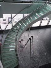 中柱旋转楼梯生产工程梯图片