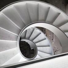 重型卷板楼梯斜梁楼梯厂家图片