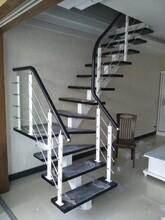 弧形楼梯露天阳台护栏图片